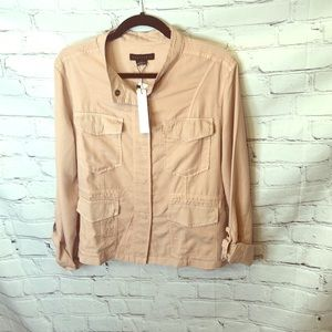 Anthropologie Sanctuary Pink Safari Utility Jacket